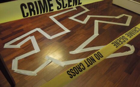 team building crime scene